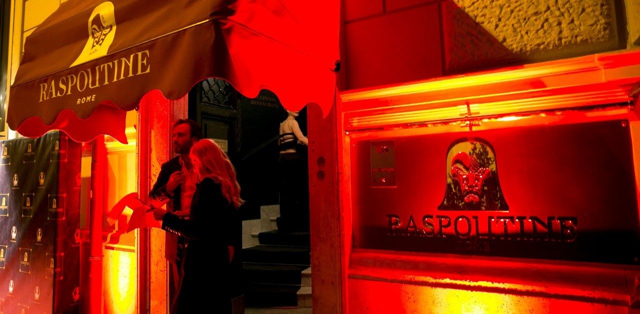 Raspoutine, arrives in Rome's exclusive clubs in the Russian style of Parisian nights