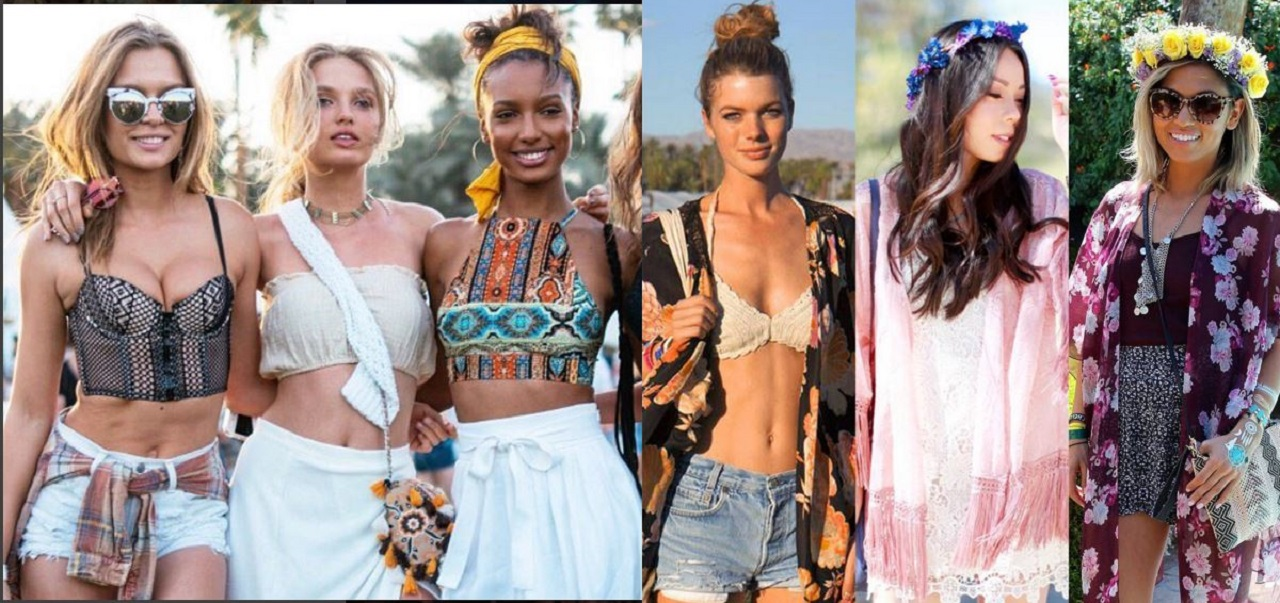 The photos of the most beautiful girls in the Coachella 2016