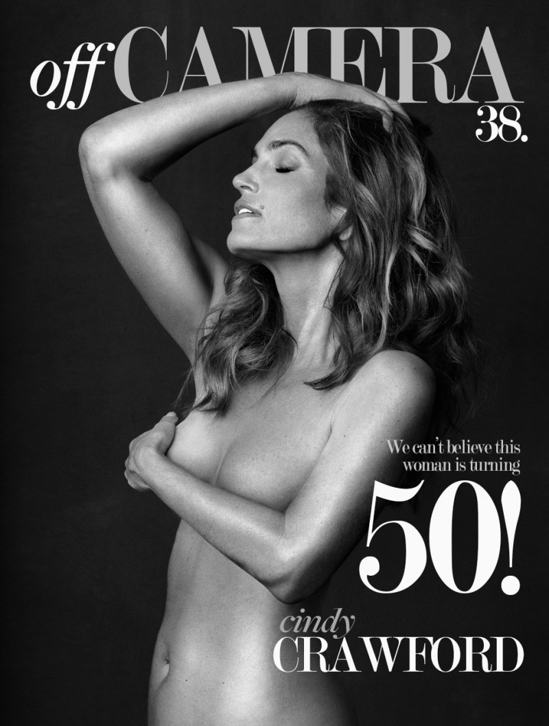 "Cindy Crawford: ""The most beautiful gift is to say 50"""