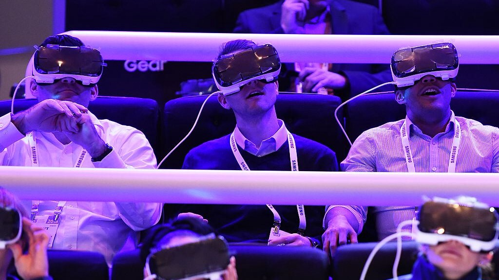 """Virtual reality: """"That's how you turn a 360-degree video"""""""