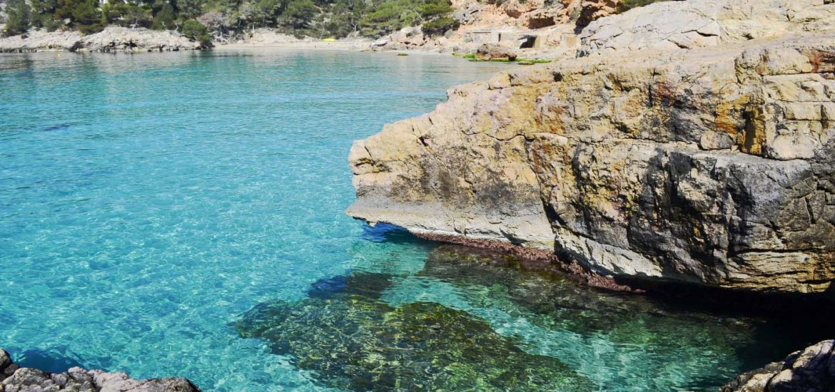 The most beautiful coves of Ibiza, as well as its nightlife