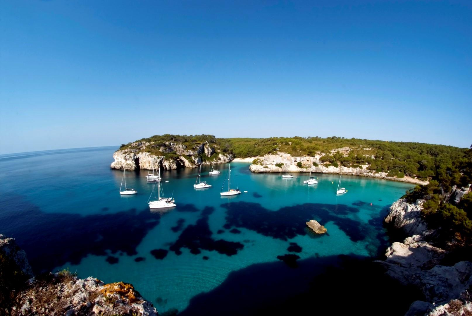 The beautiful spring of the Balearic islands