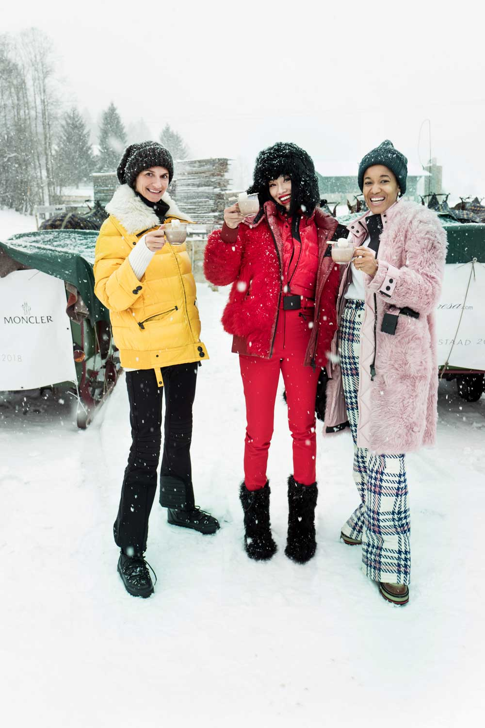 Moncler & mytheresa: Winter Experience in Gstaad