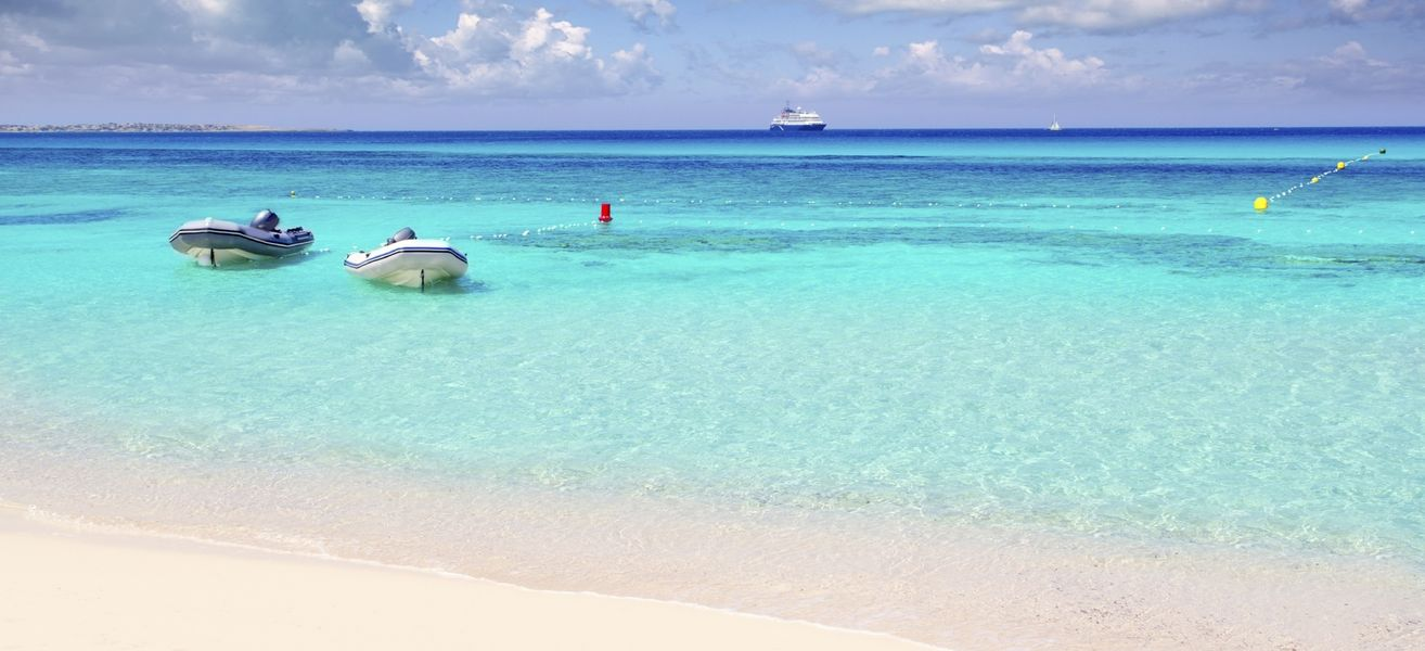 The most beautiful beaches of Formentera, a spectacular island in the Balearics